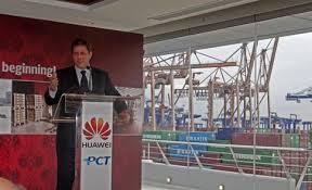 Huawei opens major distribution centre at Cosco's Greek Piraeus port