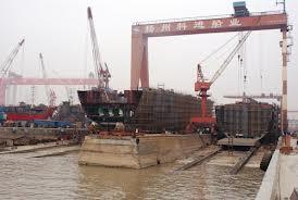 China: No safe harbor for weak shipyards