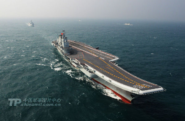 """The """"Hotel"""" passed through to Straits converted to a major aircraft carrier"""
