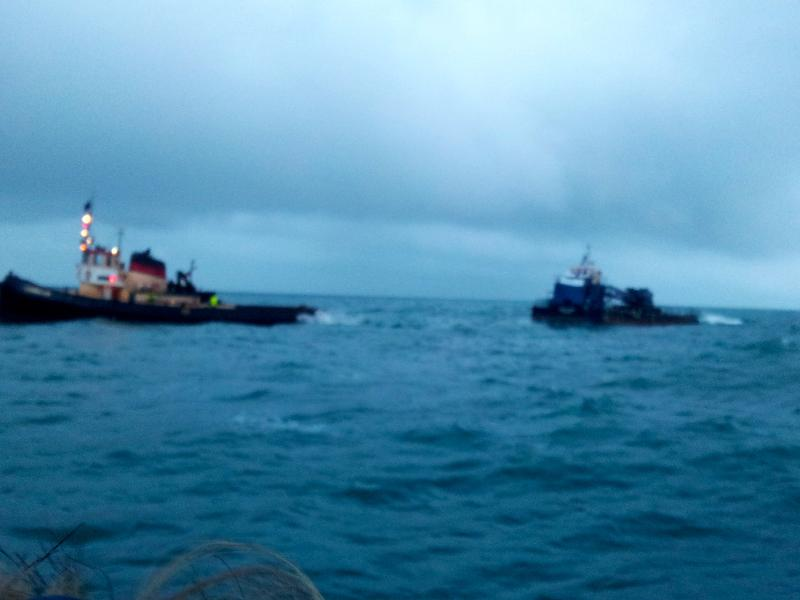 Triple collision off Dungeness