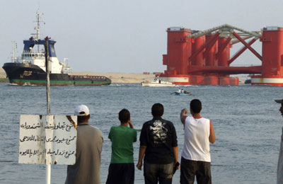 Egypt to choose winning bid to build Suez Canal logistics hub