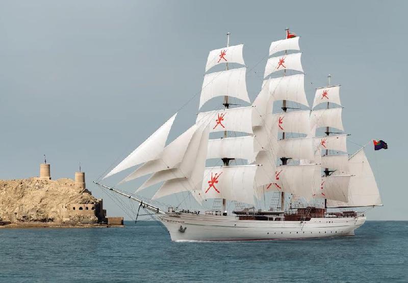 Damen Shipyards Galati Launches New Sail Training Vessel for Royal Navy of Oman
