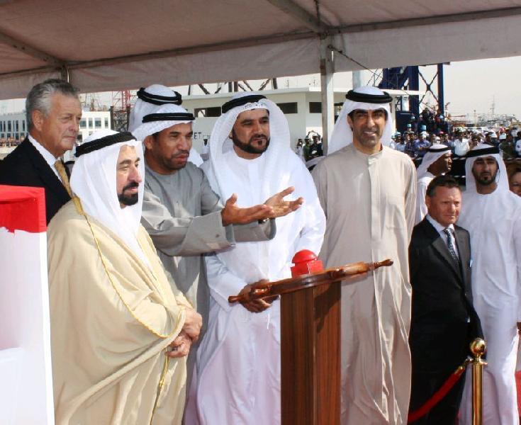 Damen Officially Opens New Shipyard in Sharjah (UAE)