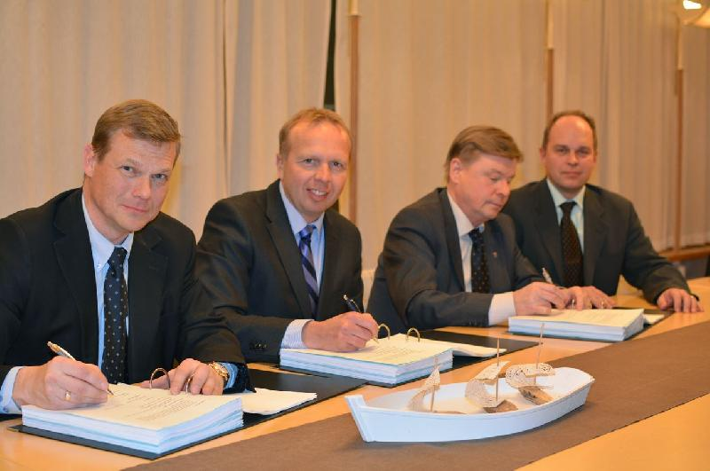 STX and City of Rauma Inks Takeover Agreement (Finland)