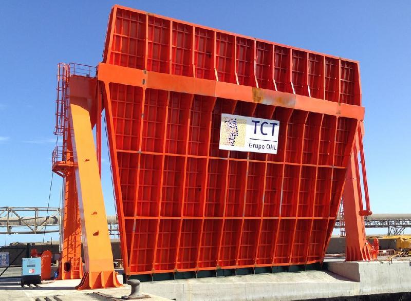 Zamakona Yards Hands Over Ro-Ro Dock to Tenerife Container Terminal