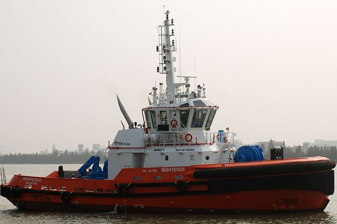 PSA Marine Receives Two RAmparts 3200 Class Tugs