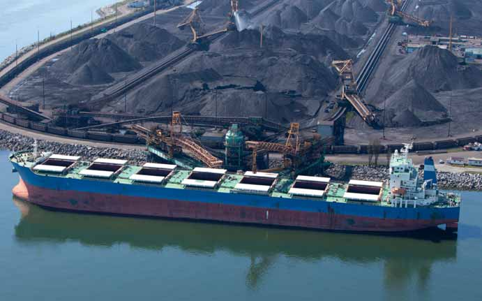 Dry Bulk trade comes out of the gloom