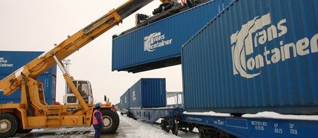 Russia's TransContainer box volume off 2pc, cites competition as cause