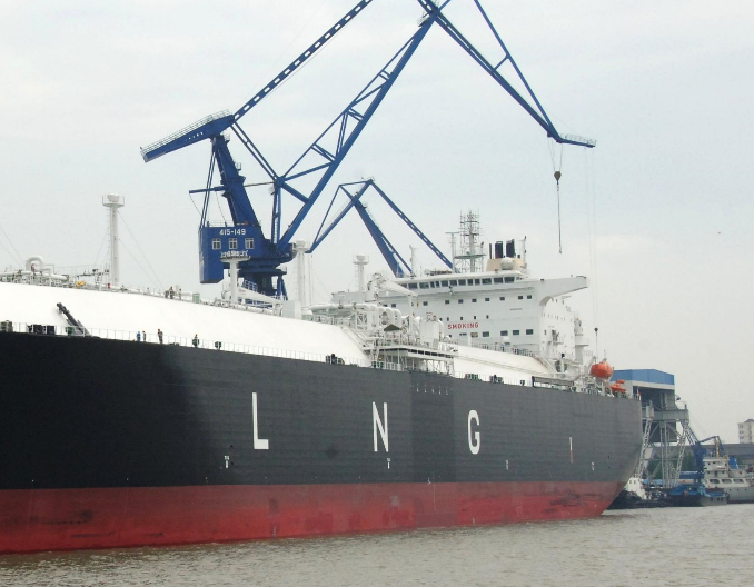 China gains in LNG tanker building, accounts for 23pc of global orders