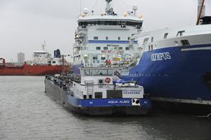 Most Sustainable Seagoing Ship Arrived in Rotterdam