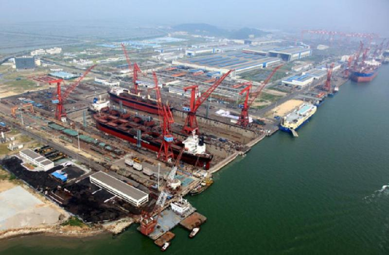 China charts course into LNG shipbuilding