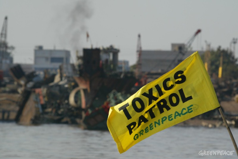 German protesters rally against shipbreaking beaches in south Asia