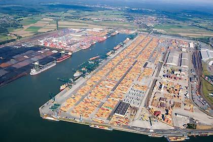 Antwerp gives planning permission for MSC Deurganck Dock development