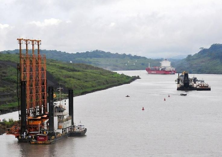 Panama consortium resumes work on canal for US$36.8 million to pay bills