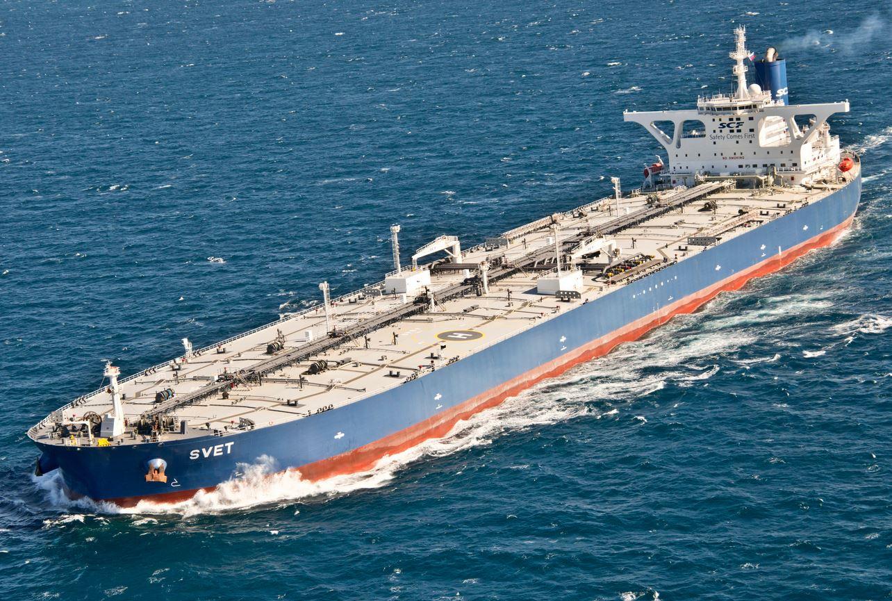SCF Takes Delivery of VLCC 'Svet' from Bohai Shipbuilding
