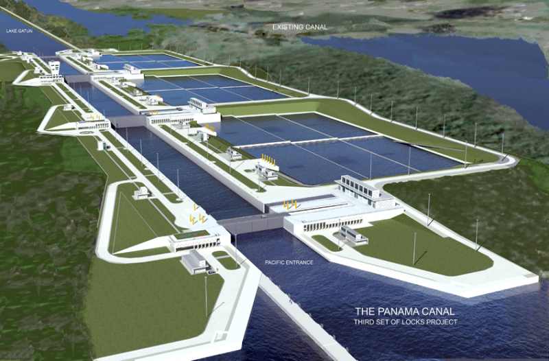 Work picks up on Panama Canal expansion as new bond deal reached