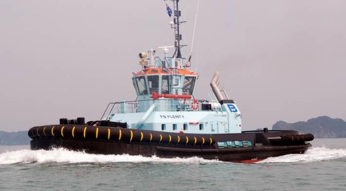 P&O Maritime Expands Its Capabilities with ASD Tug 'Sereia'