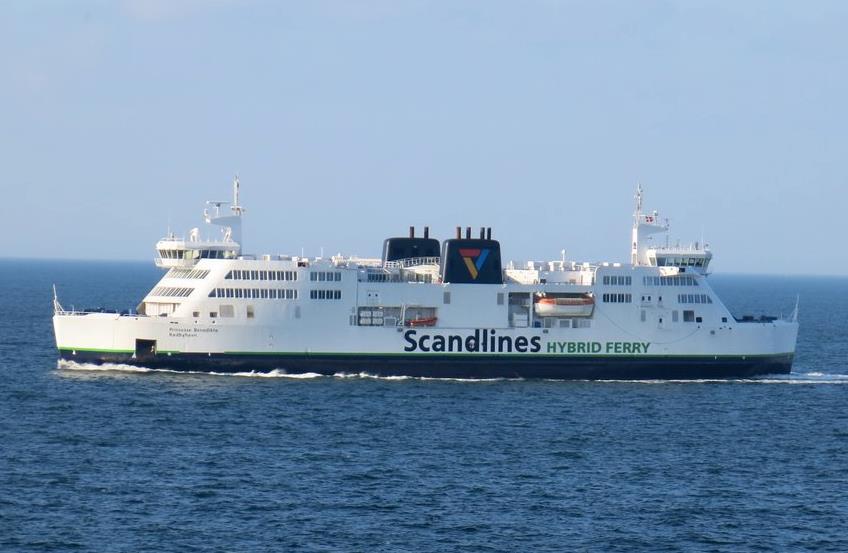 AEC Maritime Installs Scrubber on Scandlines' Ferry