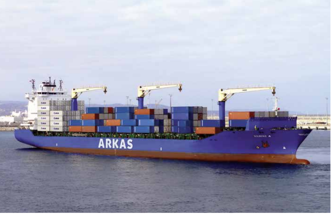 Arkas Line started to offer its West Africa Service weekly instead of once every 10 days