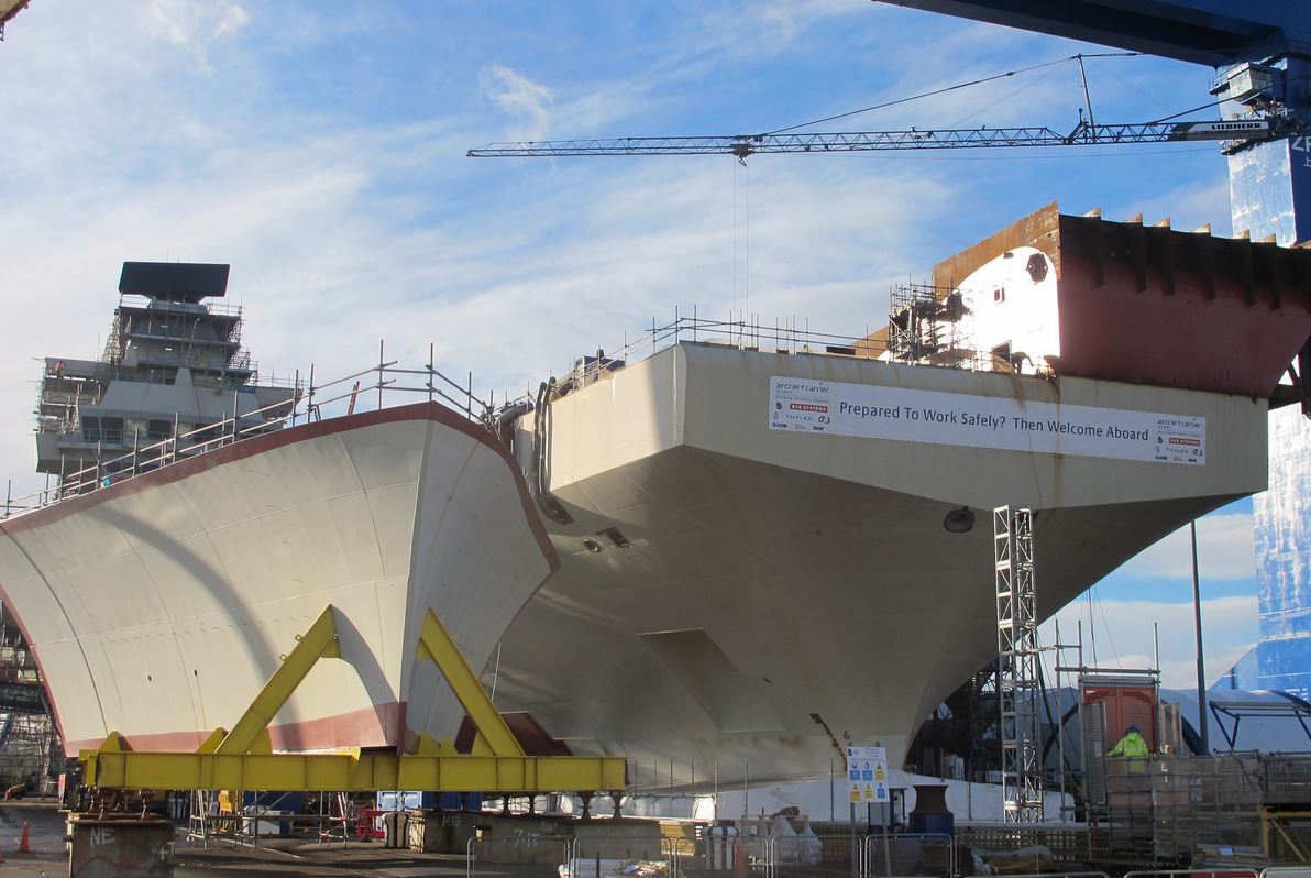 Britain's Biggest Warship Naming Countdown Kicks Off