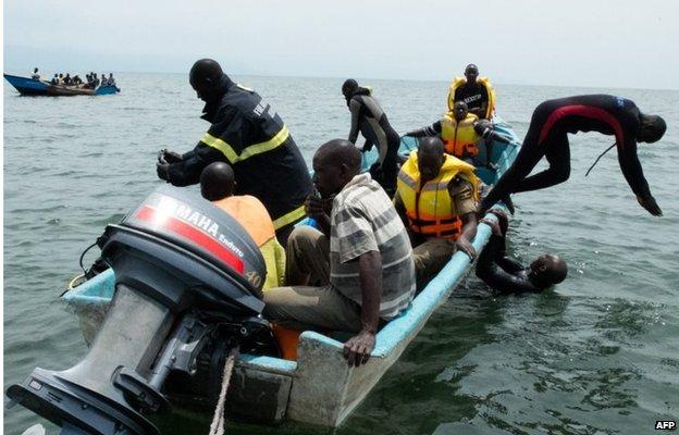 Uganda Lake Albert boat disaster 'killed 251 refugees'