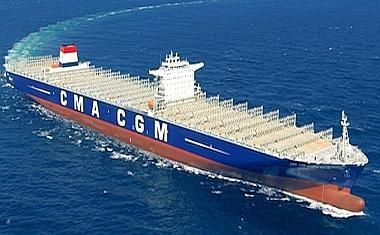 CMA CGM up-sizes six ships on order from 12,600 to 17,700 TEU for P3