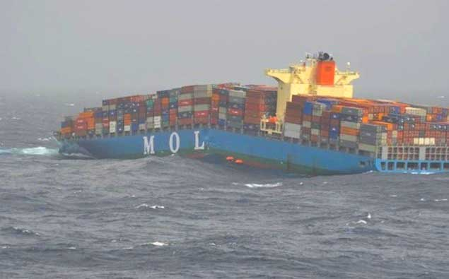 MOL sues shipbuilder Mitsubishi for splitting of MOL Comfort's hull