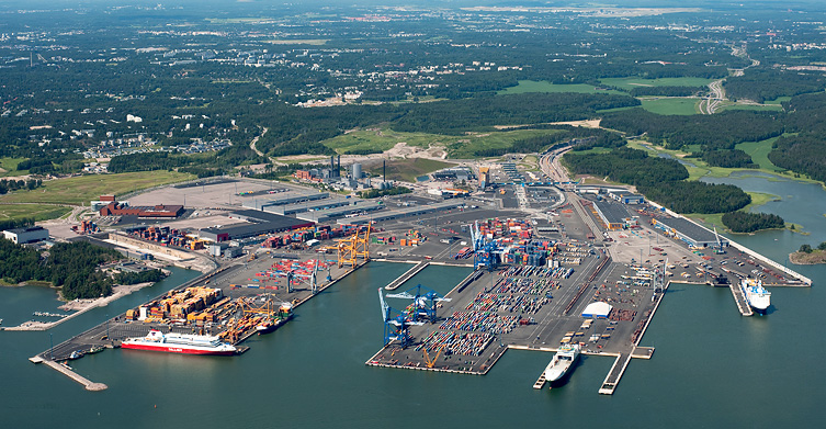 Helsinki's container volume falls 9pc in 2013 to 61,673 TEU
