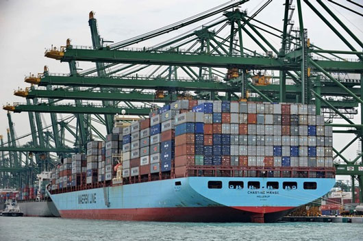Asia-Europe February box volume down 7.4pc, but rises 2pc year to date