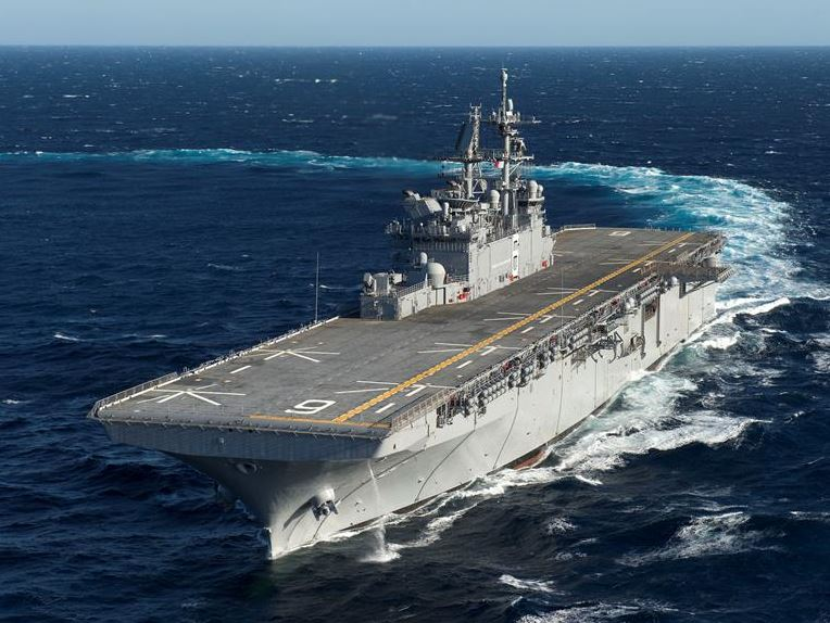 U.S. Navy Takes Delivery of Newest Ship