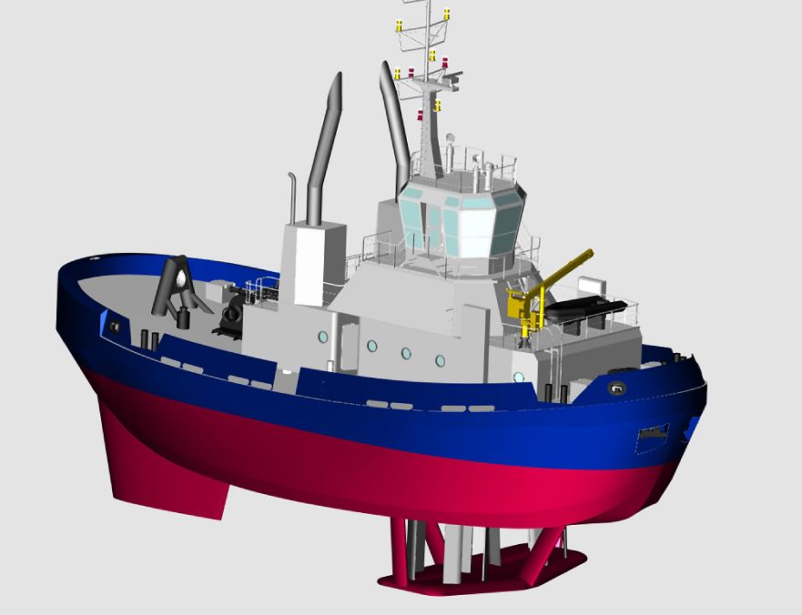 Zamakona to Build Voith Schneider Tug for HPC - PORTS - SeaNews