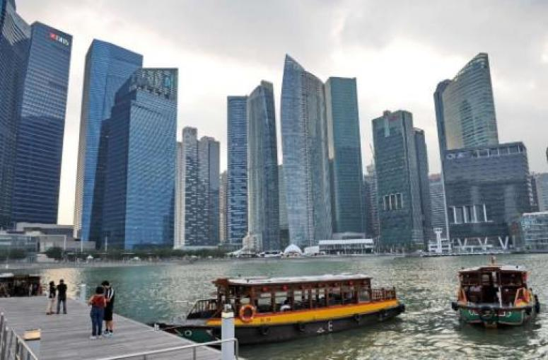 Singapore's quarterly economic growth appeared to slow to 5.1pc