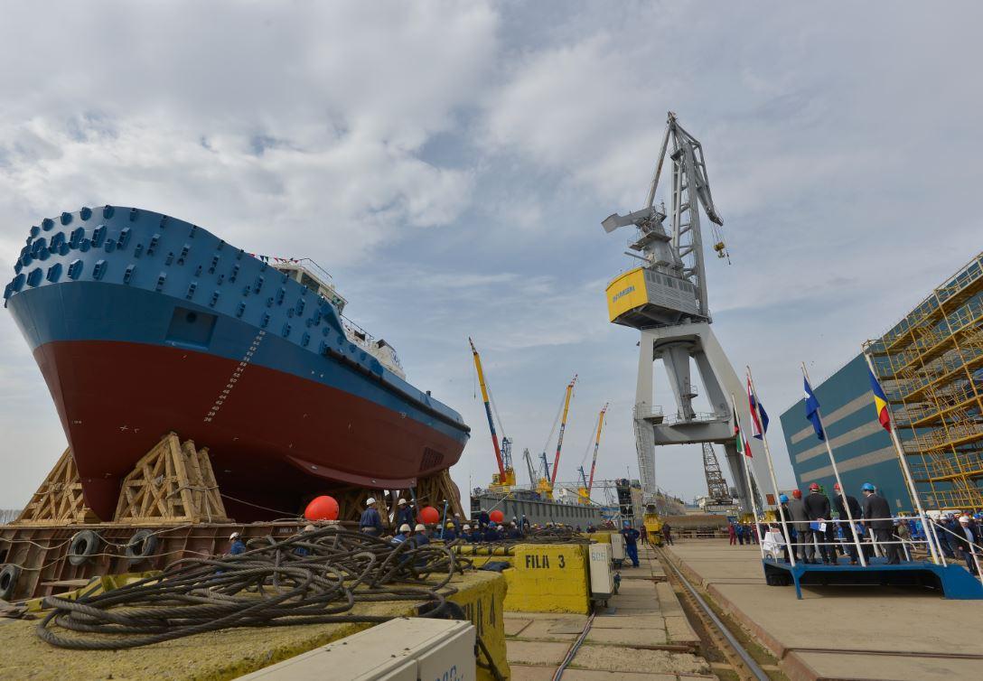 Damen launches Kuwait Oil Company's new ASD Tug