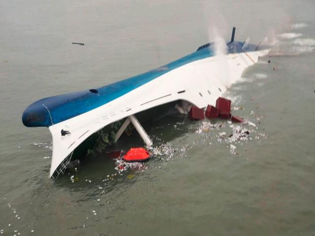 Did a wrong maneuver cause Sewol sinking?