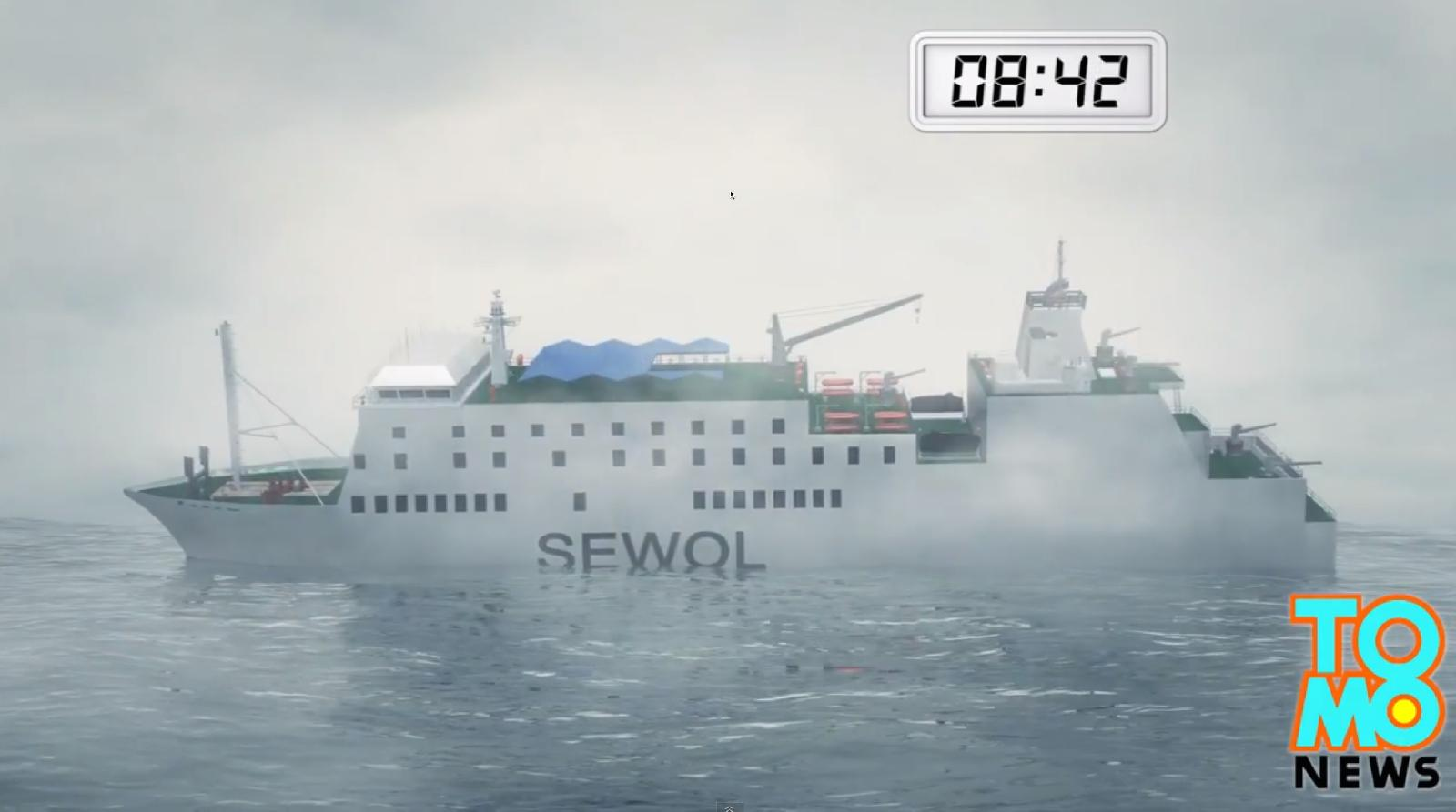Animated video of what happened to the Sewol