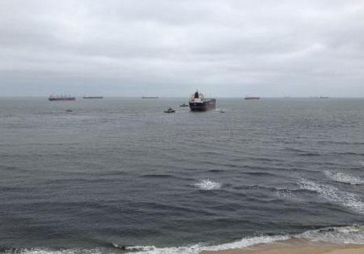 Grounded Bulk Carrier Ornak Refloated