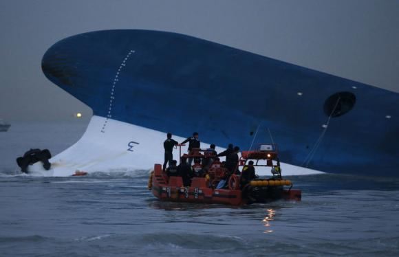 Calm, safe waters, but ill-fated Korean ferry may have been going too fast...