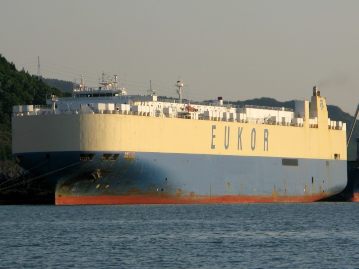 Asian Adonis rescues 25 crewmembers from burning CarCarrier Asian Empire