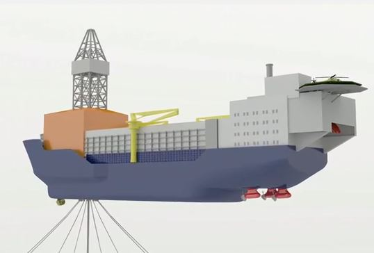 Aker Unveils New Concept, the Arctic Drillship (Video)