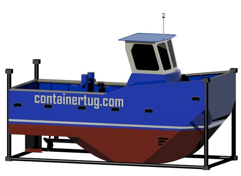 Dutch Companies Present the ContainerTug 600S