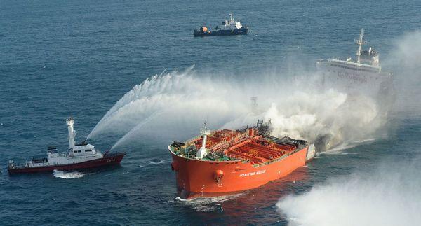 Damaged HK ship given port of refuge in Korea after 100 days at sea
