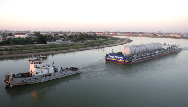 Panalpina's heavylift project division enjoyed 20pc growth in 2013