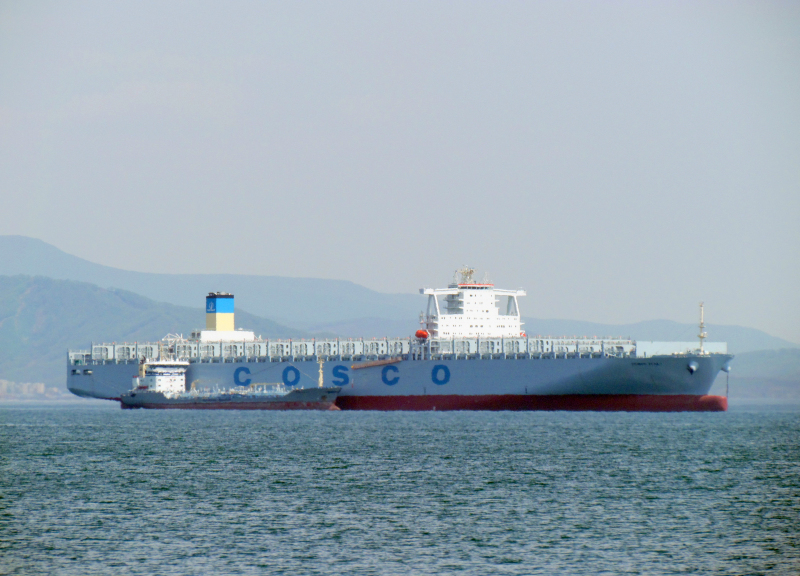 Cosco takes delivery of 13,386-TEUer to join Asia-Europe service