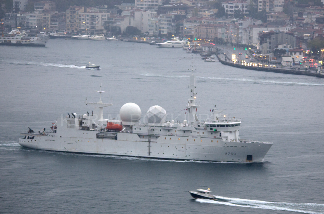French Ship 'FS Dupuy de Lome' Could Spy on Communications in Black Sea