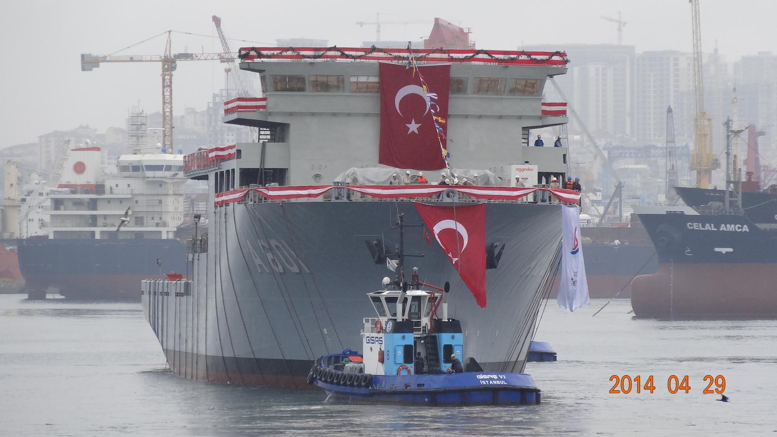 "Istanbul Shipyard launched ""ALEMDAR"""