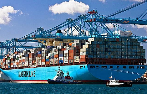 Maersk quarterly profits soar 53pc despite 5pc lower freight rates