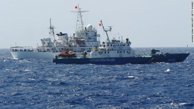 China 'sinks' Vietnamese fishing boat in tussle over disputed waters