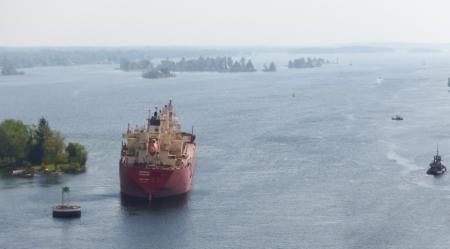 Bulker lost steering on St. Lawrence Seaway