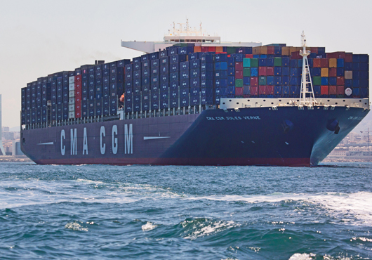 Following Seas Reap Strong Q1 Results for CMA CGM