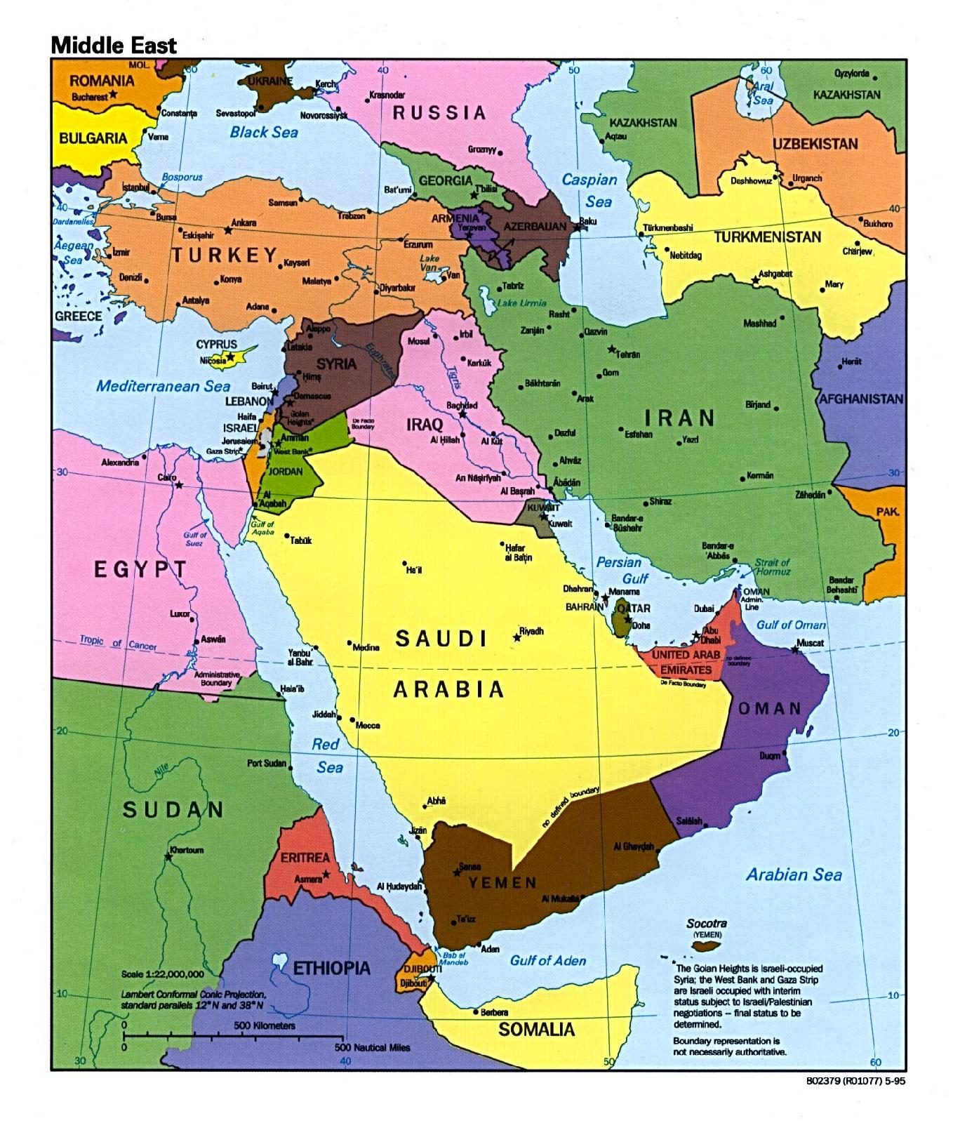 Shifting Sands: Changing Trends in the Middle East Gulf